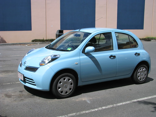 Nissan Z Blue >> Cute looking baby blue Nissan Micra | Flickr - Photo Sharing!