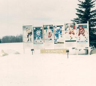 Kelvington, Saskatchewan - Hockey Cards