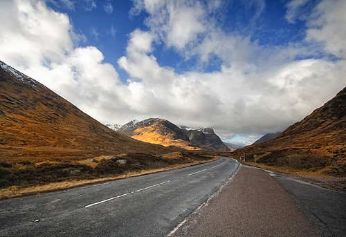the road to glencoe, highlands, scotland (loch lomond and the trossachs national park)