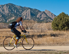 Stripes and Smile with Flatirons