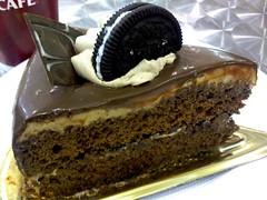 Ir al automercado es sinonimo de Torta de Chocolate