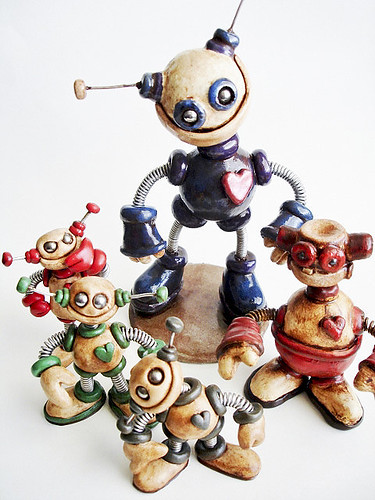 Missing Robot Sculptures: Where did the Grungy Bots Go?