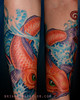 Great wave sleeve detail 2 Water Sleeve by