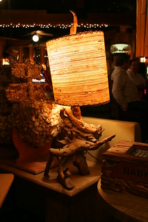Rustic Retro Lamp