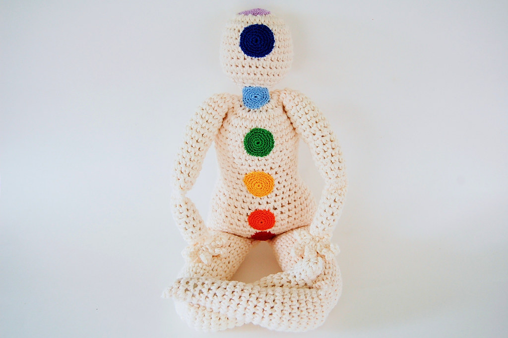 Creating a Community Crochet Chakra Doll by Knot By Gran'ma