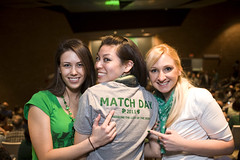 Medical Student Match Day, Class of 2011, Boonshoft School of Medicine, Dayton, Ohio