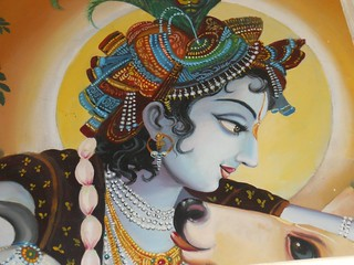 Sri Krishna art