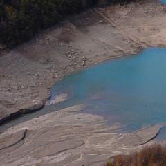 Embouchure du lac de Castillon