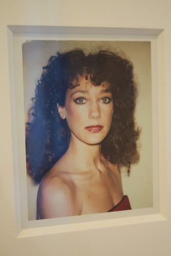 """BIG SHOTS ANDY WARHOL POLAROIDS OF CELEBRITIES"" at Danziger Projects, NYC - Marisa Berenson"