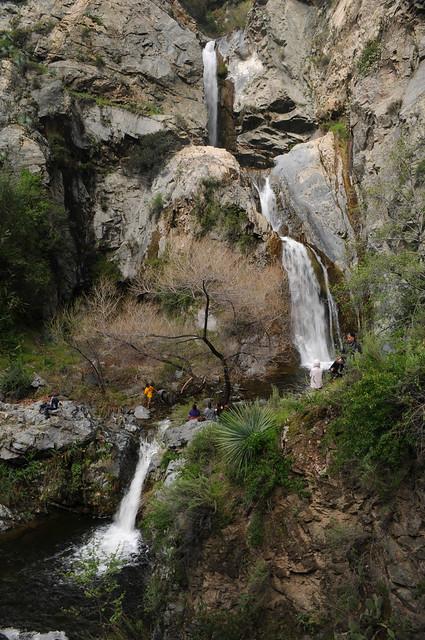 Fish creek falls san gabriel mountains 1 flickr for Fish creek falls