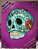 Sugar Skull Original Mixed Media