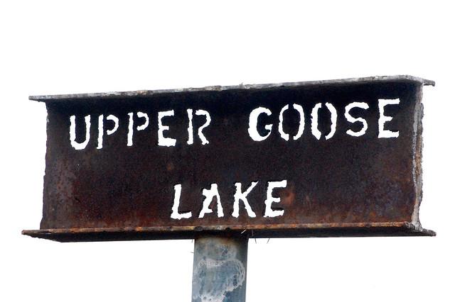 Upper Goose Lake....