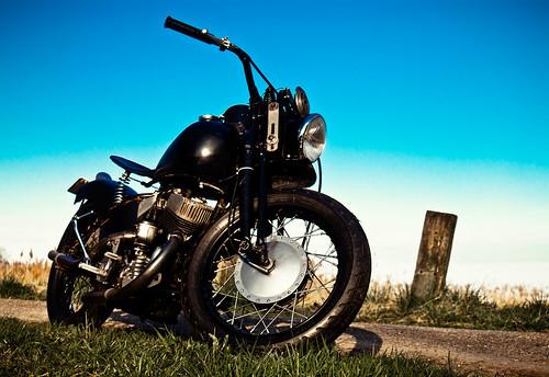 Harley-Davidson WL(K) 1942 by Erik B Photography