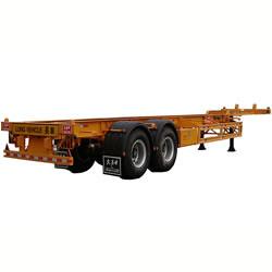 china two axle gooseneck semi trailer