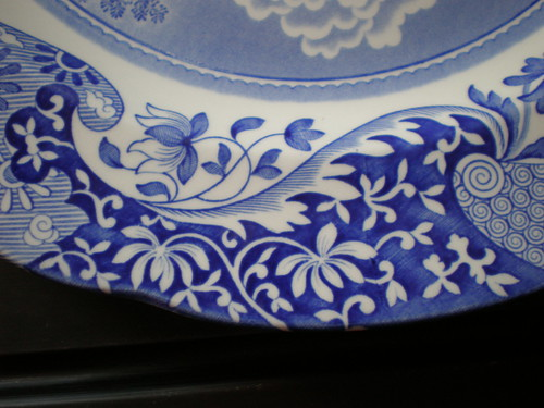 Spode china plate