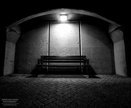 light blackandwhite bench pier nikon seat jersey channelislands sthelier d5100