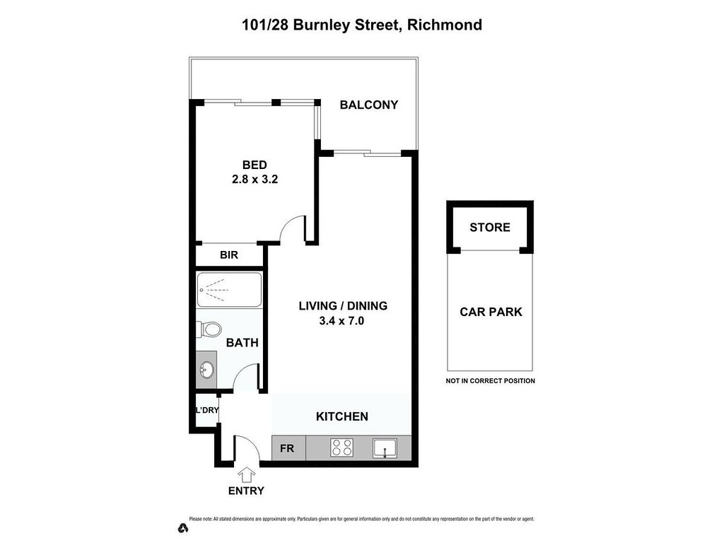101 28 burnley street richmond vic 3121 property for 101 richmond floor plans