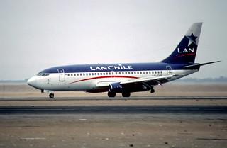 109ab - LAN Chile Boeing 737-291; CC-CDE@ARI;14.09.2000