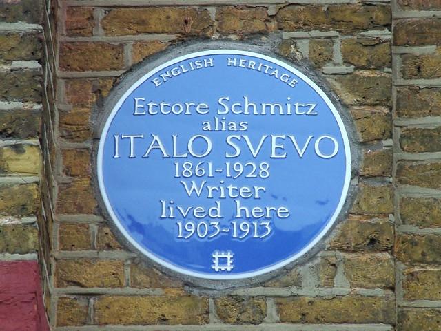 Photo of Italo Svevo blue plaque
