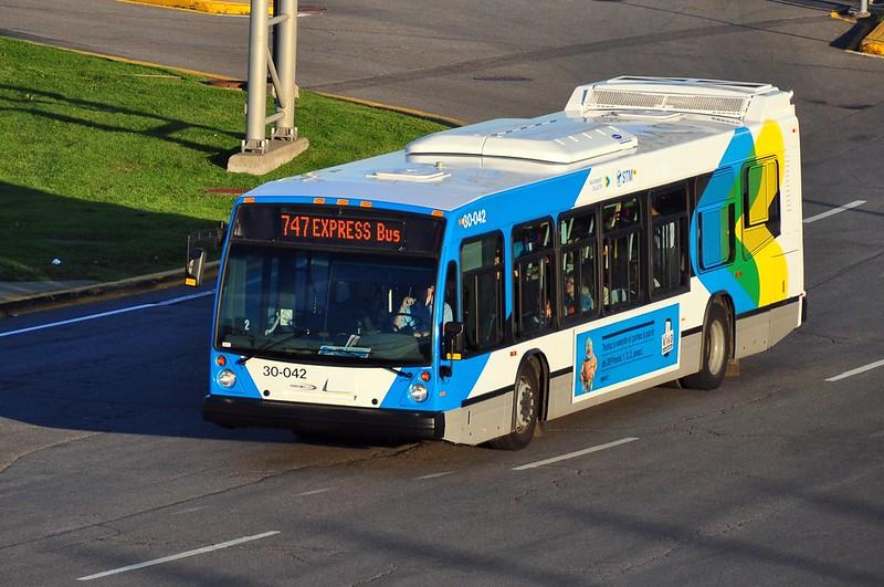 747 Express Bus