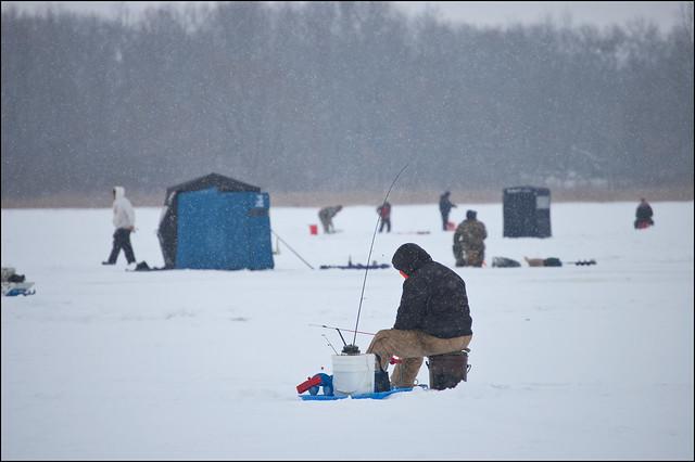Ice fishing flickr photo sharing for Ice fishing indiana