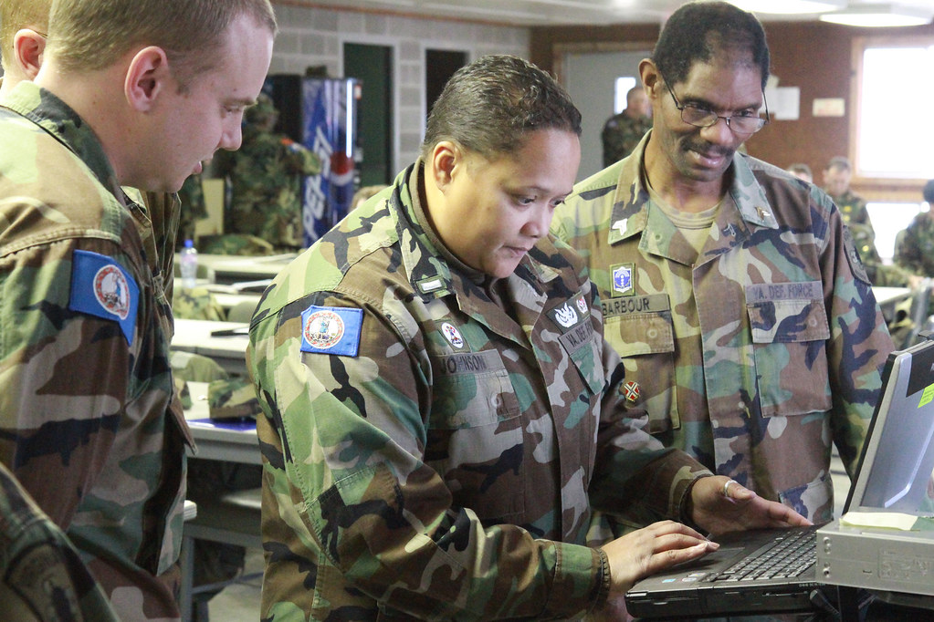 Virginia Defense Force : Virginia defense force personnel conduct incident