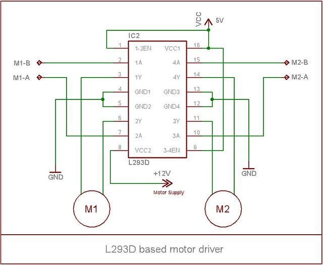Ic l293d pin diagram ic free engine image for user for L293d motor driver datasheet