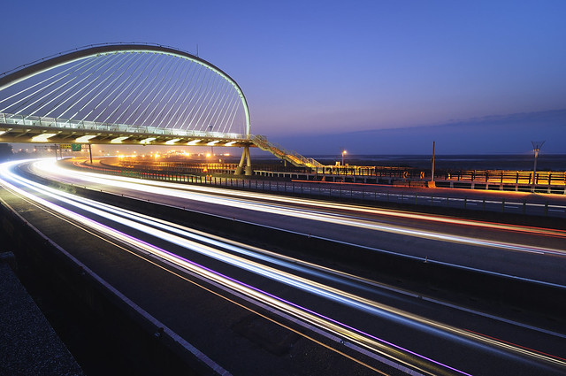 琴音流動 香山豎琴橋