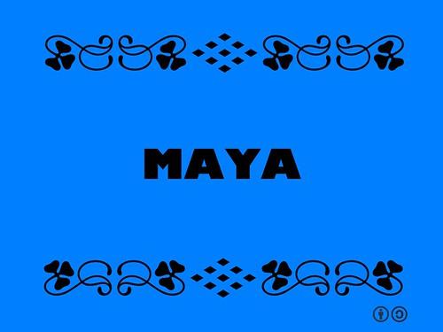 Buzzword Bingo: Maya