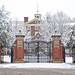 Van Wickle Gates in snow