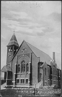 Presbyterian Church, Grand Valley. Ontario, Canada (1910)