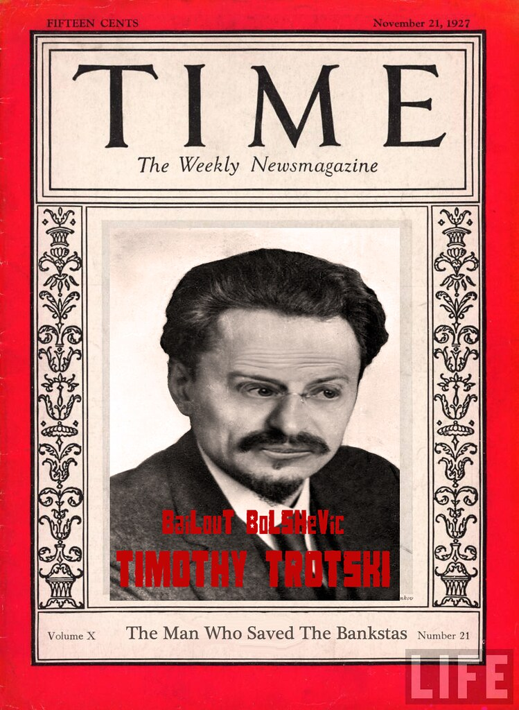 TIME COVER TIMOTHY TROTSKI