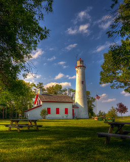 Sturgeon Point lighthouse HDR