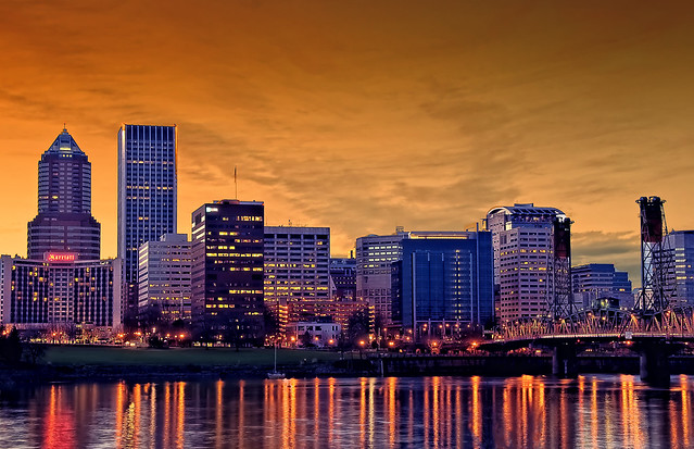 Portland Skyline | Flickr - Photo Sharing!