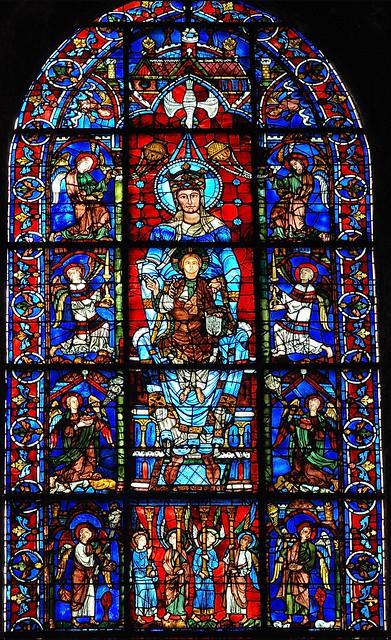 Chartres, Notre Dame de la belle verrière © Bernard Grua 2010