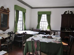 Morristown National Historical Park - Washington's Headquarters - War Room at the Ford mansion