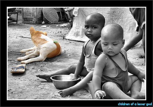poverty food dog india kids children kid emotion god sony deprived dualtone childrenofalessergod sonydsc50