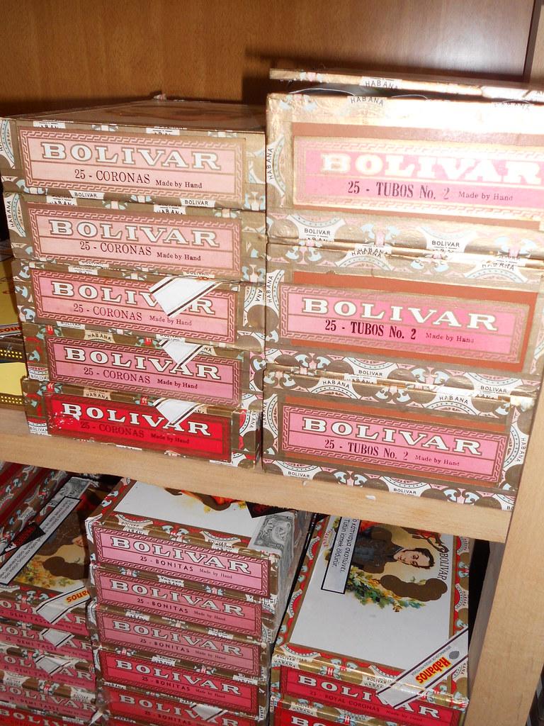 Aged Bolivar Cuban Cigars
