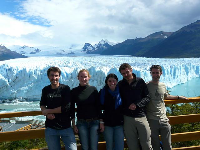 Avec Alex, Janina, Carole et Bastien