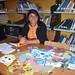 Dina carripán, Jefa de la biblioteca pública de Tirúa