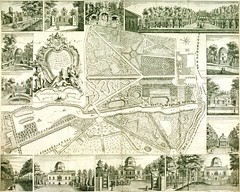Map of Chiswick, c1736