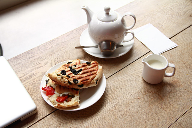 Panini & Earl Grey Blue Star