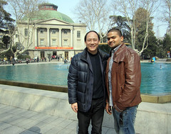 Anil with dean hunag kai