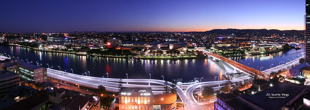 Brisbane-City Panorama