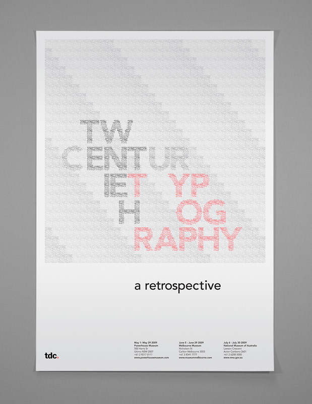 20TH Century Typography | The Type Directors Club (TDC) is a… | Flickr