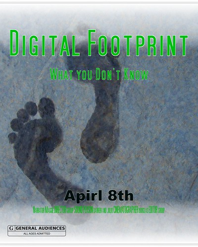 Digital Footprint Film Poster