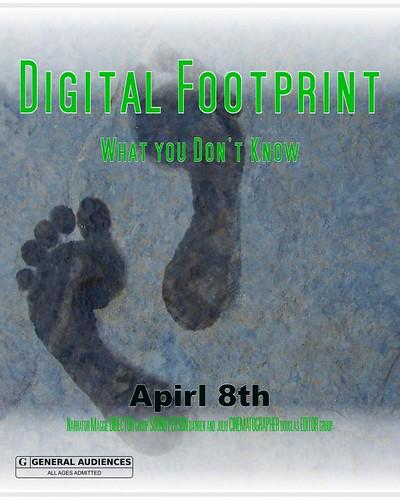 Digital Footprint Film Poster
