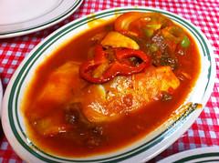 日, 2011-03-27 13:29 - Margot Restaurant 白身魚のレッドソース