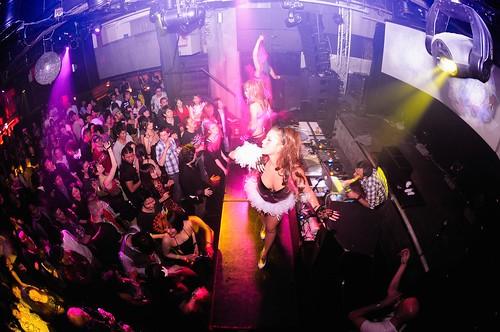 DJ in Tokyo club