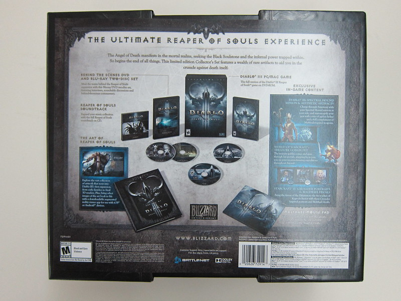 Reaper of Souls - Collector's Edition - Box Back